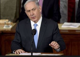 Prime Minister Benjamin Netanyahu speaking up for Christians smaller