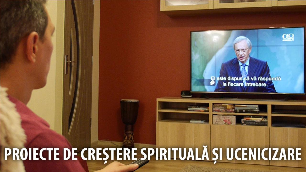 proiect crestere spirituala youtube