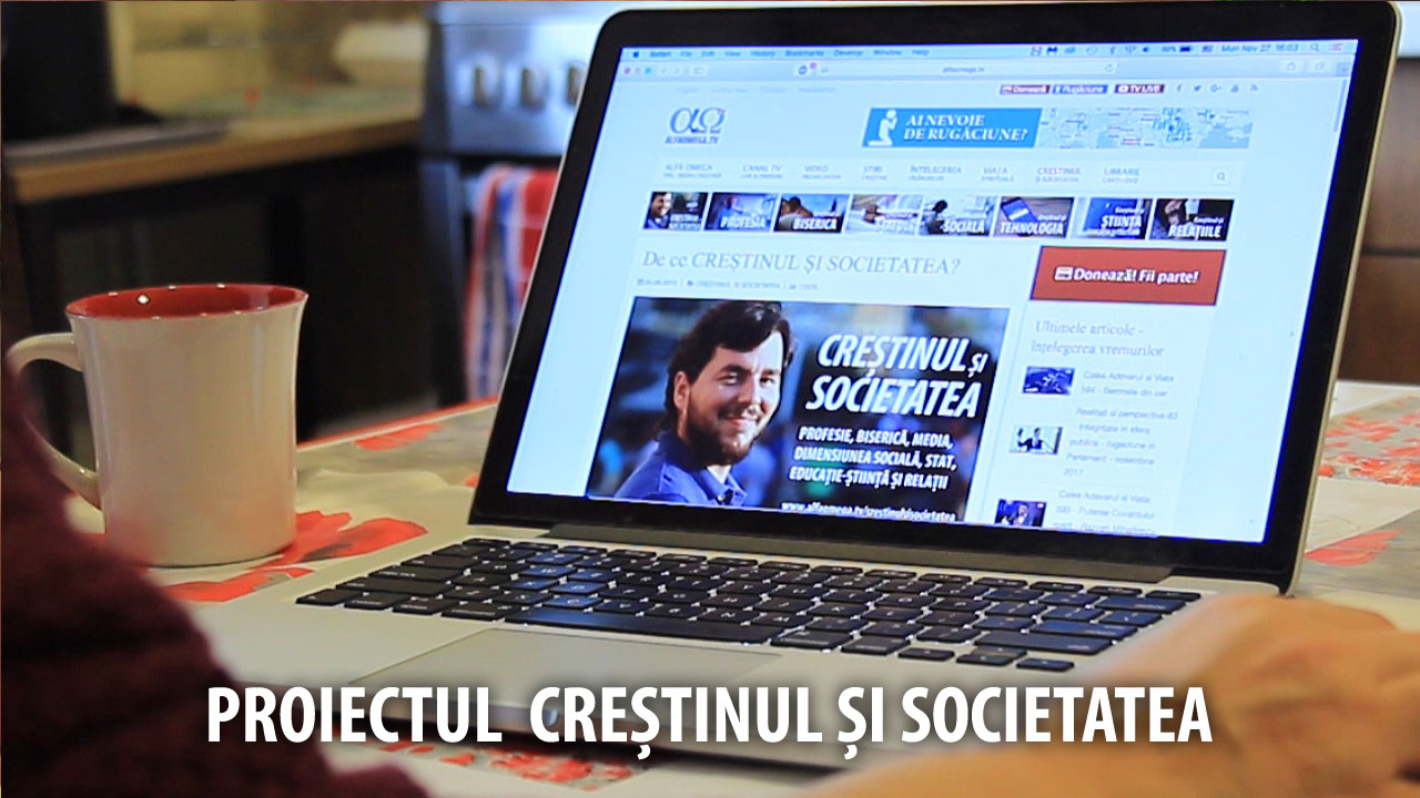 proiect crestinul societatea youtube