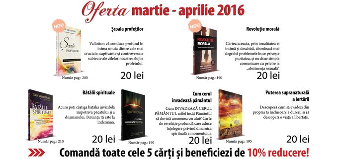 Oferta librariei Alfa Omega TV