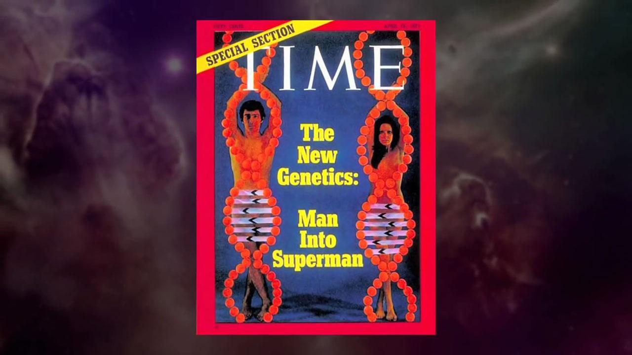 transumanismul time genetica
