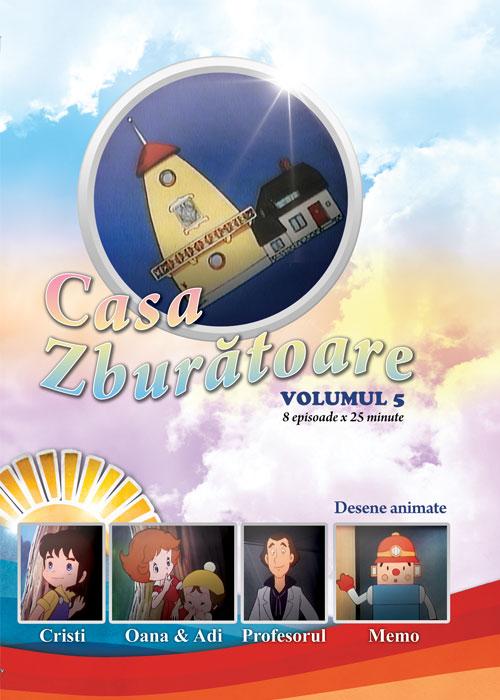 Casa zburatoare - volumul 5