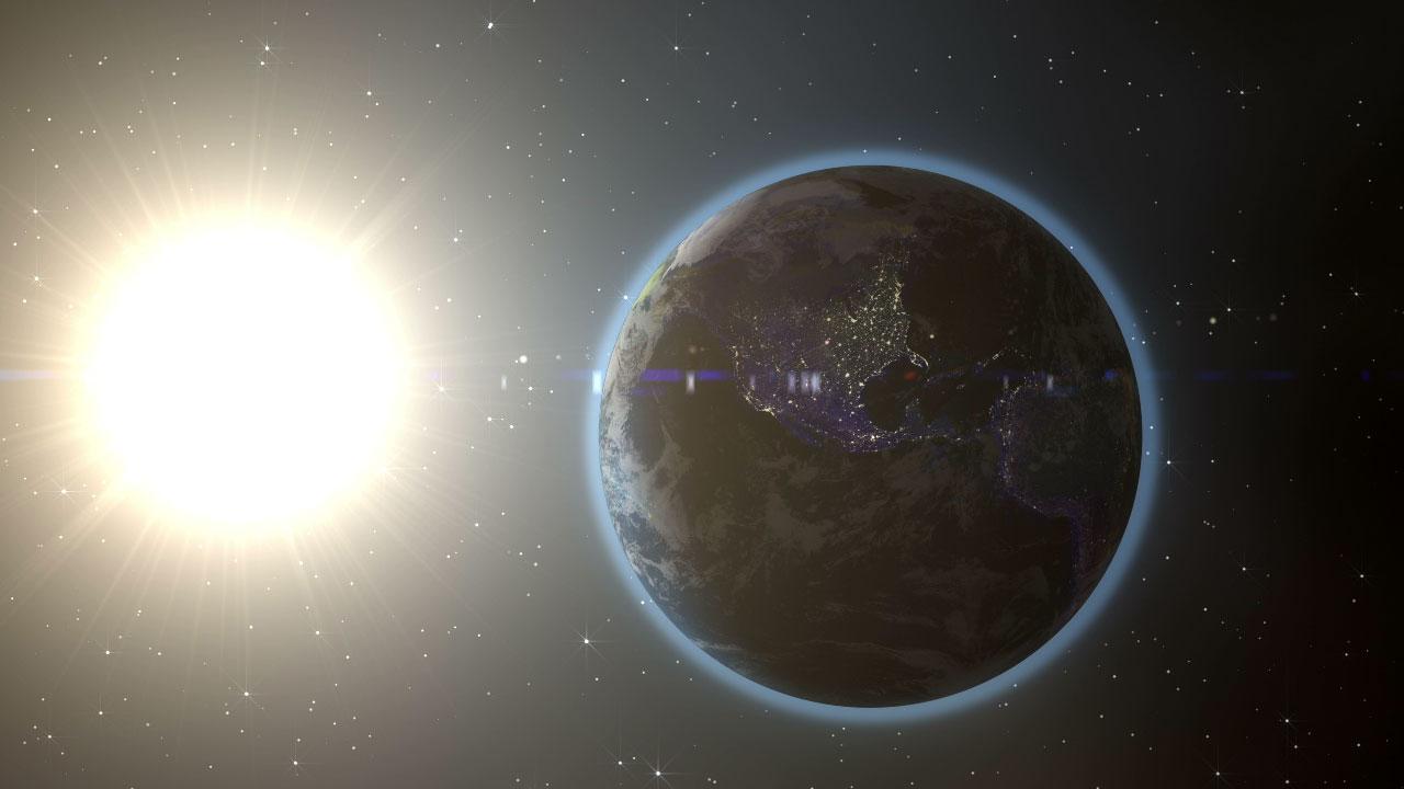 planeta pamant soare