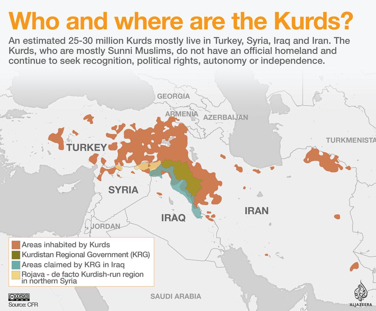 kurdistan harta