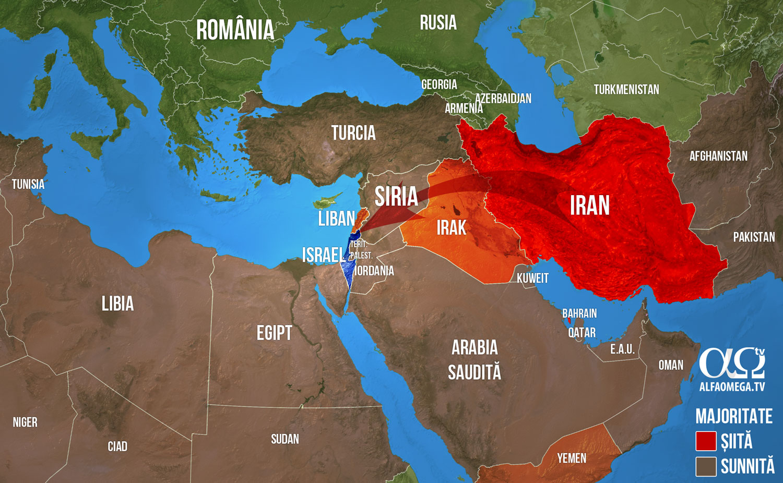 orientul mijlociu siiti suniti influenta iranului