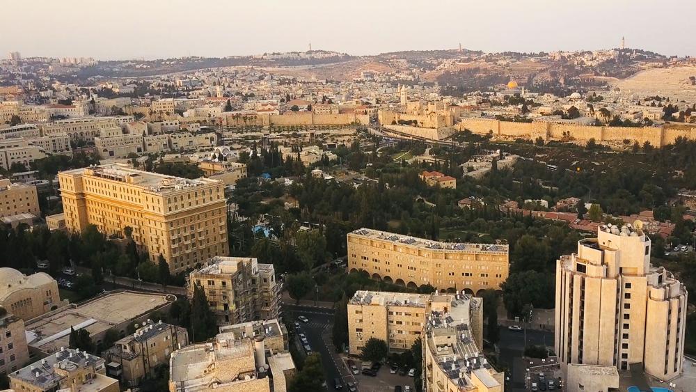 jerusalemoldcityaerial hdv
