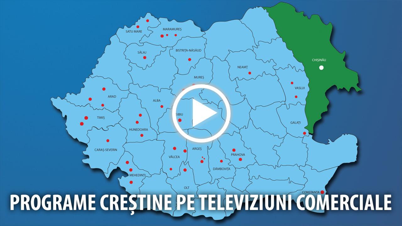 Programe creștine pe stații TV comerciale
