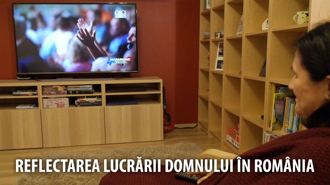 Reflectarea lucrării Domnului din România