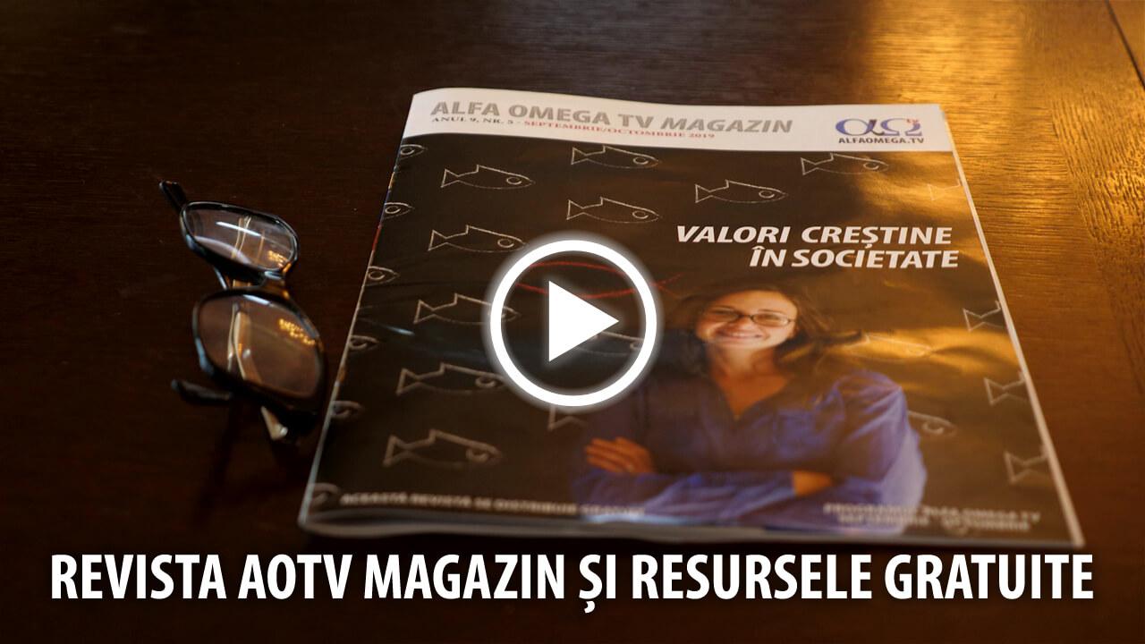 Revista AOTV Magazin si resurse gratuite