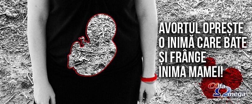 avortul opreste inima ce bate