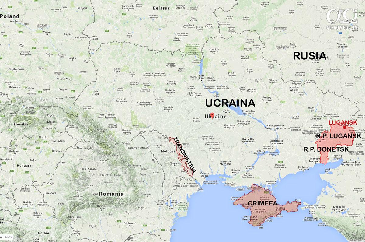 harta ucraina lugansk