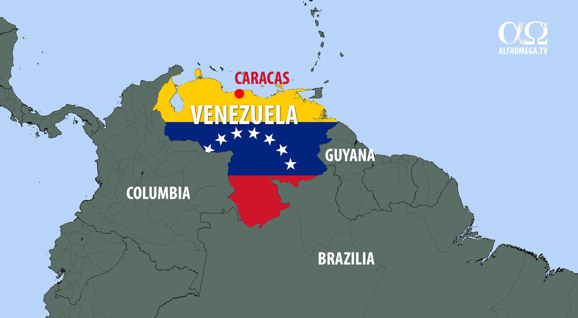 venezuela harta caracas