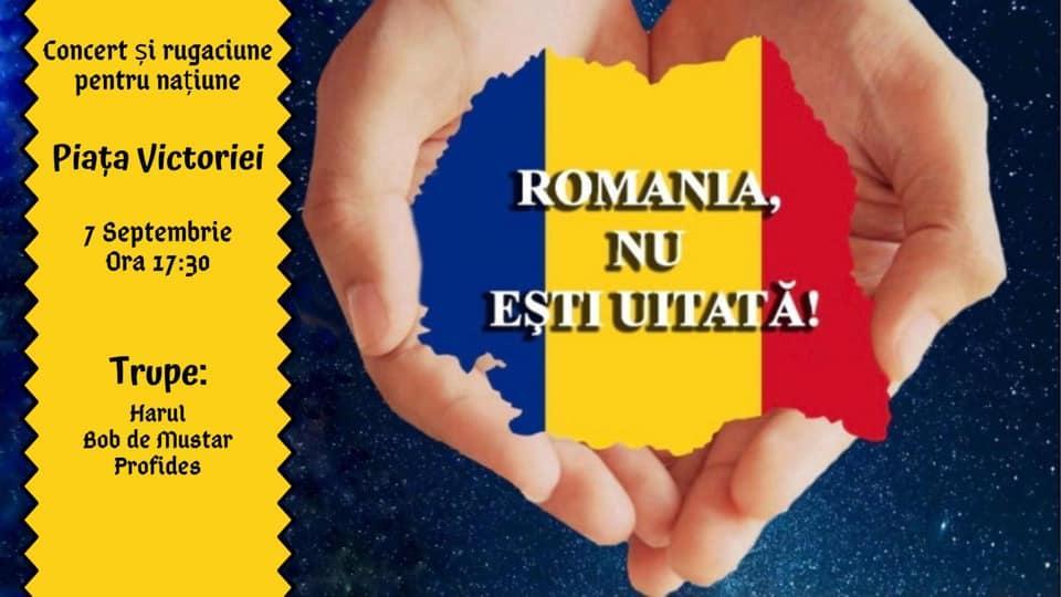 2019 09 bucuresti concert rugaciune program