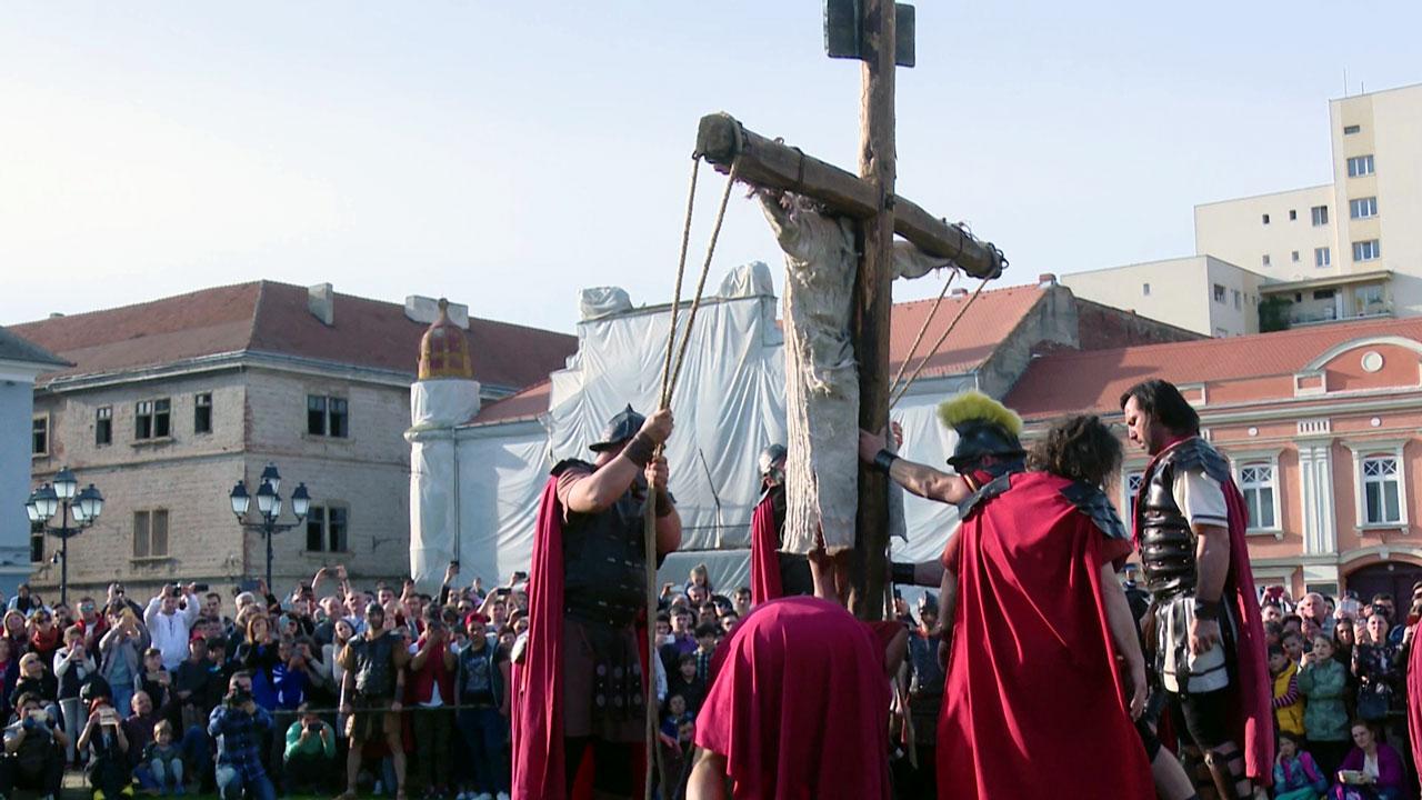 drumul crucii rastignire