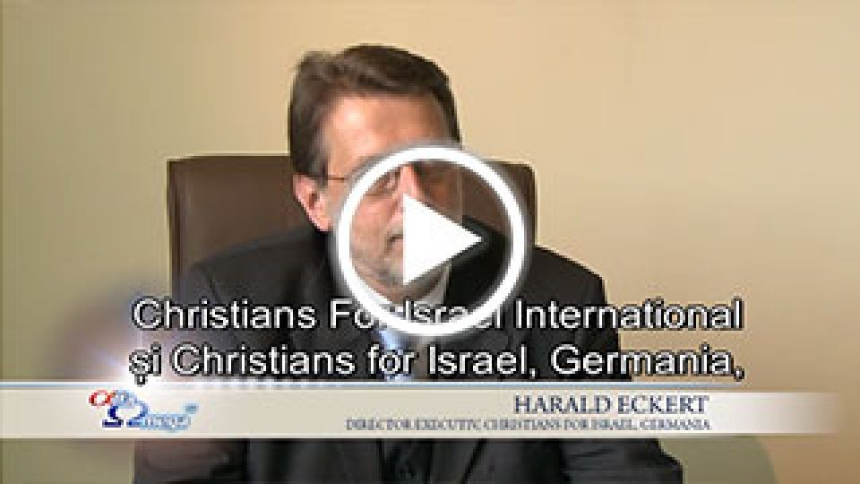Harald Eckert, Christians for Israel