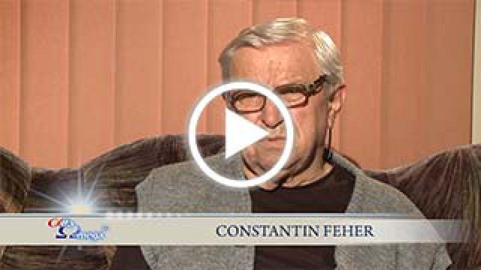 Constantin Feher, telespectator, marturie vindecare