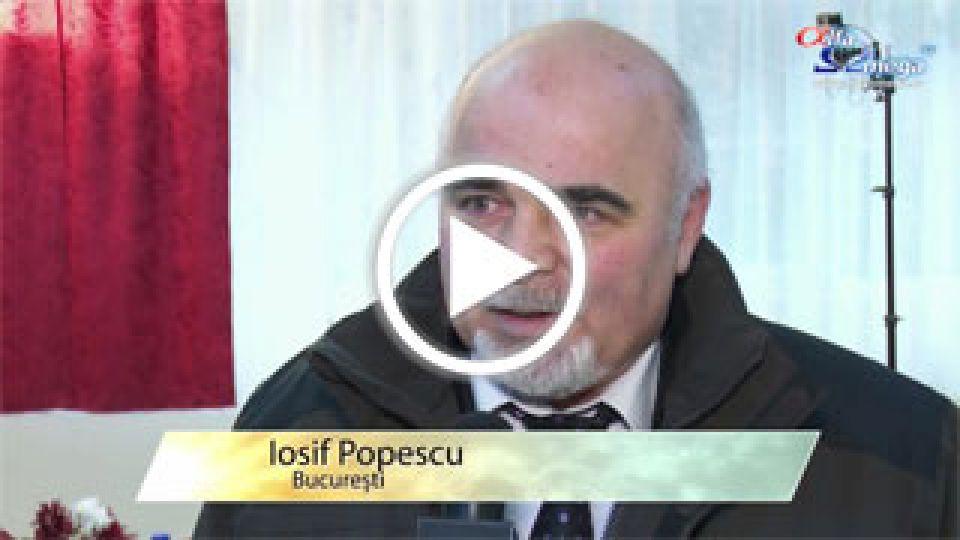 Iosif Popescu - Bucuresti - Despre impactul Alfa Omega TV