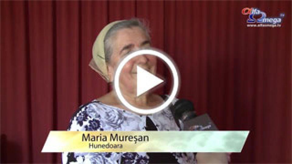 Maria Muresan - Hunedoara - Despre impactul Alfa Omega TV