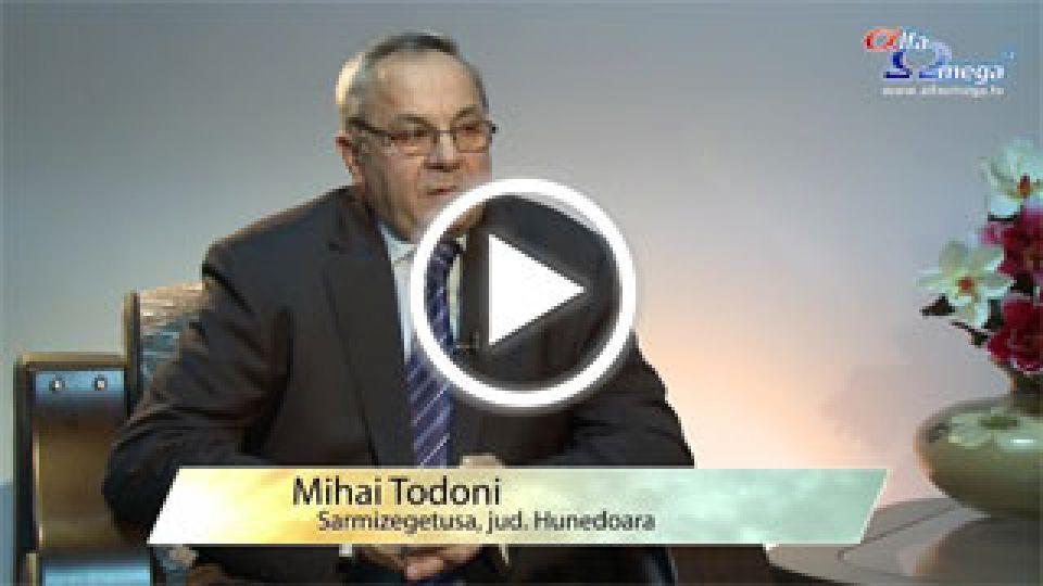 Mihai Todoni - Sarmizegetusa - Despre impactul emisiunilor de slujire Calea Adevarul si Viata