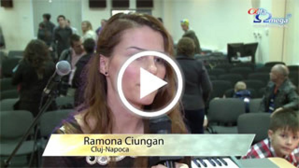 Ramona Ciungan - Cluj-Napoca - Despre motivatia de a sustine financiar Alfa Omega TV