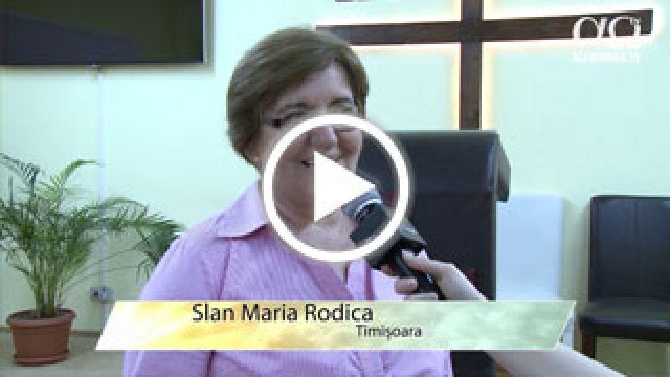 Slan Maria Rodica, Timisoara - impactul canalului AO